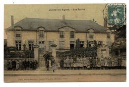 CPA: 51 Marne. JÂlons -les-Vignes..Les écoles. (  568 Hab )              . E.64 - Autres Communes