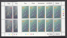 A S44 ) Free Shipping To // Armenia 1997 Fairy Tales And Legends Europe CEPT / 2 Miniature Sheet **/MNH - Fairy Tales, Popular Stories & Legends