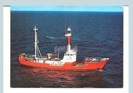 Ship сarte рostale Lighthouse рostcard Borkumriff - Faros
