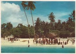 °°° 13390 - MALDIVES VILLAGE - With Stamps °°° - Maldive
