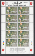 A S44 ) Free Shipping To // Isle Of Man 1997 Fairy Tales And Legends Europe CEPT / 2 Miniature Sheet **/MNH - Fairy Tales, Popular Stories & Legends