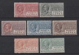 1926/28 Italia Regno Posta Aerea Serie Linguellata*  2 Scans - Poste Aérienne