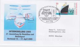 Germany Cover Dortmund 2005 Intermodellbau 2005  (G96-18) - Brieven En Documenten