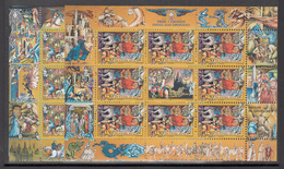A S44 ) Free Shipping To // YUGOSLAVIA 1997 Fairy Tales And Legends  Europe CEPT / 2 Miniature Sheet **/MNH - Fairy Tales, Popular Stories & Legends