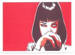 Adesivo Decalcomania Sticker Film Kill Bill  Diretto Da Quentin Tarantino Dimensioni Cm 7x5 Circa - Adesivi