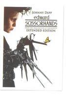 Adesivo Decalcomania Sticker Film Edward Mani Di Forbice Edward Scissorhands Dimensioni Cm 7x5 Circa - Adesivi