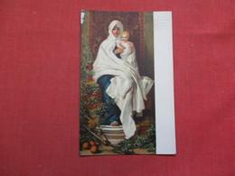 Madonna Dell' Olivio - Künstlerkarte Barabino - Verlag Stengel & Co.   Ref 3515 - Virgen Mary & Madonnas