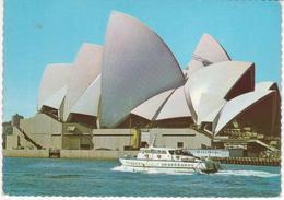 °°° 13393 - AUSTRALIA - SIDNEY - OPERA HOUSE - 1973 With Stamps °°° - Sydney