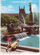 °°° 13394 - AUSTRALIA - SIDNEY - THE ARCHIBALD FOUNTAIN - With Stamps °°° - Sydney