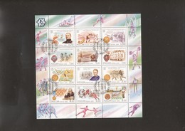 Olympic 1908 (and 1912, 52, 56, 80) Winner N. Panin Sheet Of Russia USED - Summer 1908: London