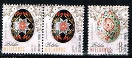Polen 2017, Michel# 4902 - 4903 O Easter - Used Stamps