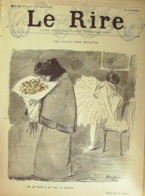 """REVUE """"LE RIRE""""-1895- 53-JOUR Des MORTS-LUTTEURS-EXHIBITION STARE CASE-TEMPETES - Books, Magazines, Comics"""