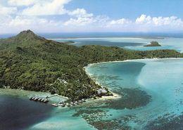 1 AK Bora Bora - Französisch Polynesien * Blick Auf Das Hotel Bora-Bora Und Den Strand Matira – Luftbildaufnahme * - French Polynesia