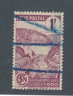 FRANCE - COLIS POSTAUX N°YT 216A OBLITERE - COTE YT : 6€ - 1944/45 - Paketmarken