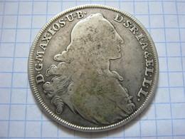 Bavaria 1 Thaler 1770 - Taler Et Doppeltaler
