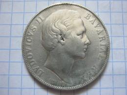 Bavaria 1 Thaler 1866 - Taler Et Doppeltaler