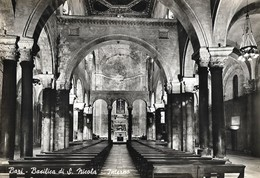 Italie Bari Basilica Di S. Nicola Interno (2 Scans) - Bari