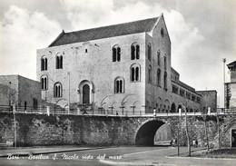 Italie Bari Basilica S. Nicola Vista Dal Mare (2 Scans) - Bari