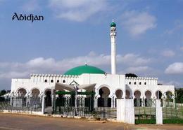 Ivory Coast Abidjan Mosque New Postcard Elfenbeinküste AK - Elfenbeinküste