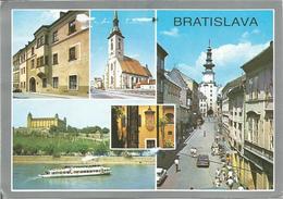 BRATISLAVA. (scan Verso) - Slovaquie