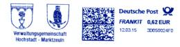Freistempel 5063 Wappen Eule - Machine Stamps (ATM)