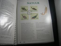 "BELG.1990 2383/2386 Filatelic Gold Card NL. : "" NATUUR "" - 1981-90"