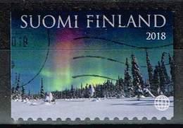 Finnland 2018, Michel# 2555 - 2556 O Glamour Of Lapland: Aurora Borealis And Reindeer - Gebraucht