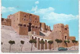 °°° 13400 - SYRIA SIRIA - ALEPPO - ENTRANCE OF THE CITADEL - 1962 °°° - Siria