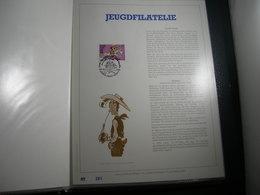 "BELG.1990 2390 Filatelic Gold Card NL. : "" JEUGDFILATELIE , LUCKY LUKE "" - FDC"