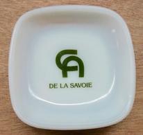 CENDRIER LOGO CREDIT AGRICOLE DE LA SAVOIE / OPALEX MADE IN FRANCE - Cendriers