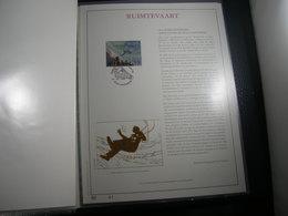 "BELG.1998 2786 Filatelic Gold Card NL. : "" RUIMTEVAARD "" - FDC"
