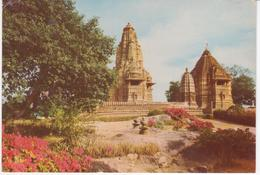 °°° 13402 - INDIA - LAXMAN MATEGESWAR TEMPLE , KHAJURAHO - 1982 °°° - India