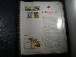 "BELG.1974 1738/41 Filatelic Gold Card NL. : "" Solidariteit "" - 1971-80"