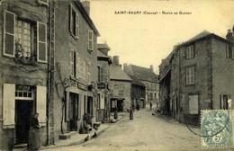 23 - SAINT VAURY ROUTE DE GUERET / A 500 - France