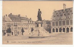 Belgique - BRF - Louvain - Place Du Peuple - Statue De Sylvain Van De Weyer - Leuven