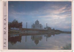 °°° 13403 - INDIA - TAJ MAHAL - 1992 With Stamps °°° - India