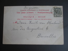 53 - PK (Grotte De Han) Verstuurd Uit Eprave (sterstempel) - 1893-1907 Wappen