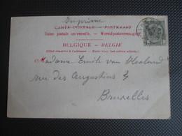 53 - PK (Grotte De Han) Verstuurd Uit Eprave (sterstempel) - 1893-1907 Coat Of Arms