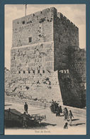 Palestine - RARE - Vintage Post Card - Tour De David - Egypte