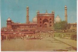 °°° 13404 - INDIA - JAMA MASJID DELHI - 1987 With Stamps °°° - India