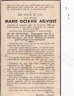 Nukerke, Lokeren, 1943, Marie Aelvoet, - Images Religieuses
