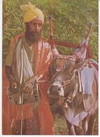 °°° 13405 - INDIA - A VILLAGE SOOTH SAYER - 1987 With Stamps °°° - India