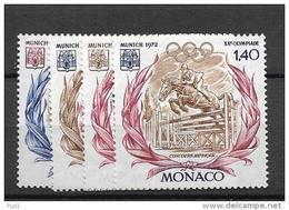 1972 MNH Monaco, Postfris** - Nuevos