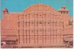 °°° 13406 - INDIA - JAIPUR - PALACE OF WINDS (HAWA MAHAL) - With Stamps °°° - India