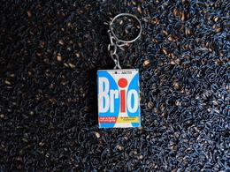 Porte-clefs BRIO, Le Plus Blanc, Le Plus Sûr  (Box 4-1) - Porte-clefs