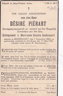 Bernissart, Sint-Kruis, 1942, Desiré Pierart, Audenaert - Devotion Images