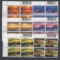 Ross Dependency 1999 Night Skies 6v Bl Of 4 (corner, Code In Margin) ** Mnh (43853) - FDC