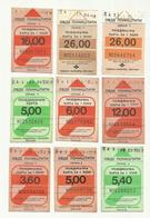 Serbia Bus Transportation City Belgrade Ticket Card - Busse