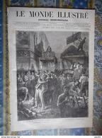 LE MONDE ILLUSTRE 28/10/1876 PARIS MAROC SIDI MOULEY HALEM GUIGNOL SERBIE PARACIN BOSNIE HERZEGOVINE NOVI - Journaux - Quotidiens