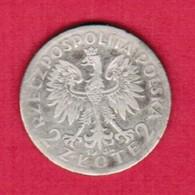 "POLAND  2 ZLOTY ""SILVER"" 1934 (Y # 20) #5331 - Polen"